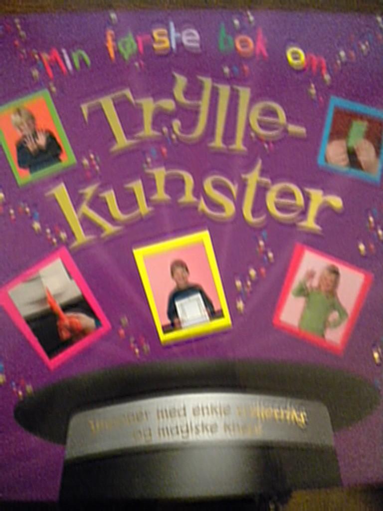 a8303271c Min første bok om Tryllekunster (Gordon Hill)
